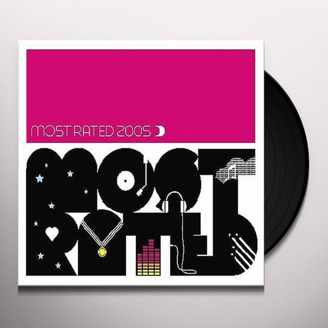 MOST RATED 2005 Vinyl Record - UK Import