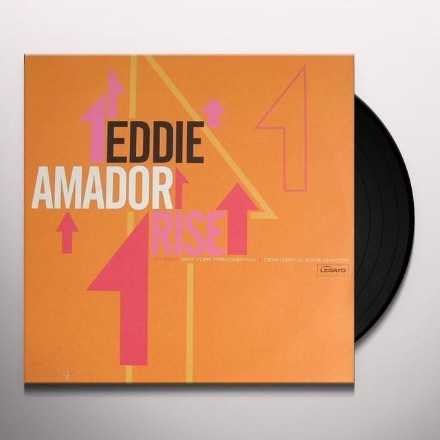Eddie Amador RISE Vinyl Record - UK Release