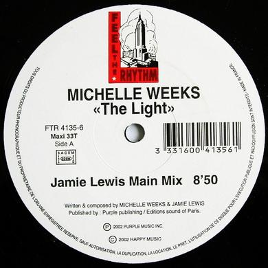 Michelle Weeks LIGHT Vinyl Record