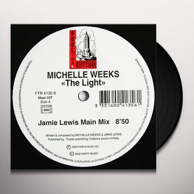 Michelle Weeks LIGHT Vinyl Record - UK Import