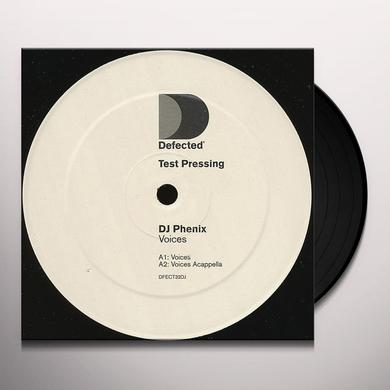 Dj Phenix VOICES Vinyl Record - UK Import