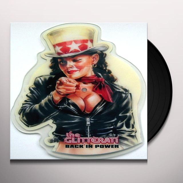 The Glitterati BACK IN POWER Vinyl Record