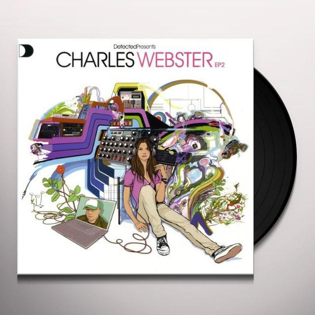 VOL. 2-DEFECTED PRESENTS CHARLES WEBSTER Vinyl Record - UK Release