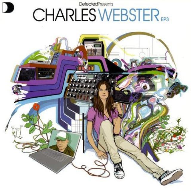 VOL. 3-DEFECTED PRESENTS CHARLES WEBSTER Vinyl Record