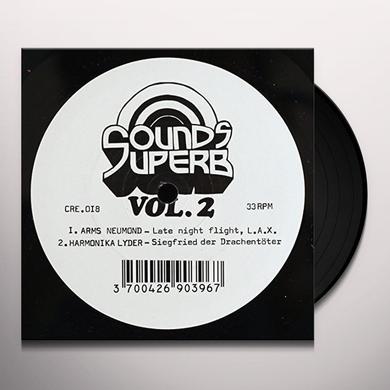VOL. 2-SOUNDS SUPERB (FRA) Vinyl Record