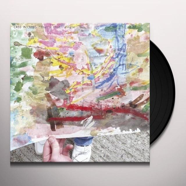 Cass Mccombs THAT'S THAT Vinyl Record - UK Import