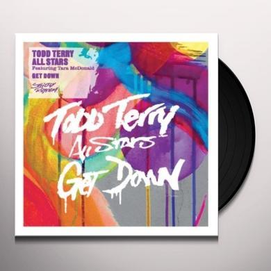 Todd Allstars Terry GET DOWN Vinyl Record