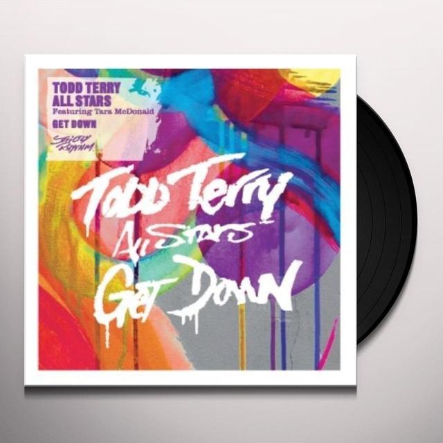 Todd Allstars Terry GET DOWN Vinyl Record - UK Import