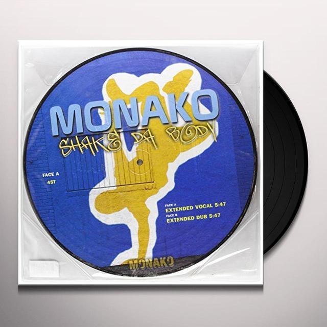 Monako SHAKE DA BODY (FRA) Vinyl Record