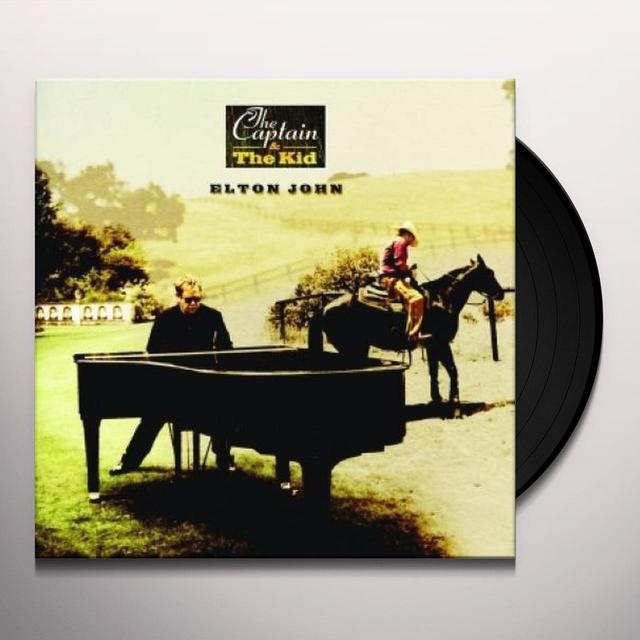 Elton John CAPTAIN & THE KID (HOL) (Vinyl)