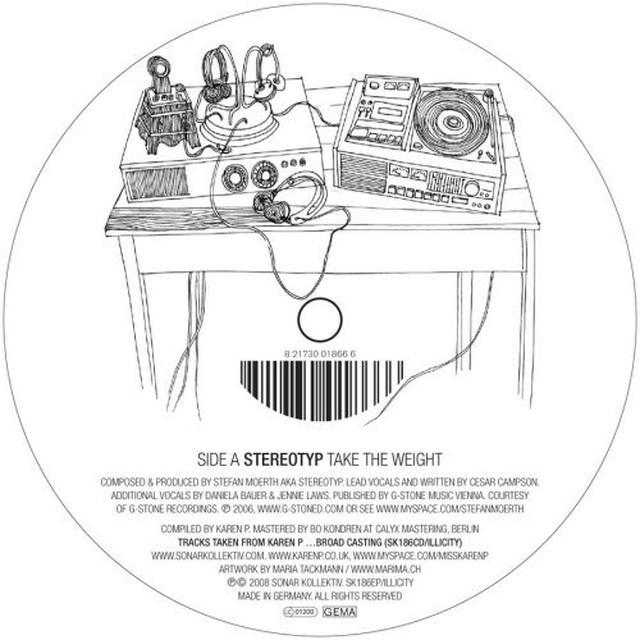 BROAD CASTING EP-KAREN Vinyl Record
