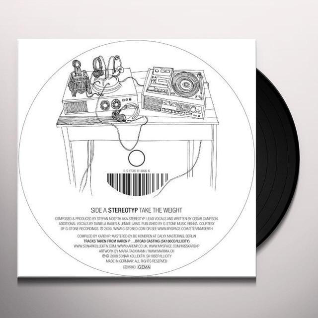 BROAD CASTING EP-KAREN (GER) Vinyl Record