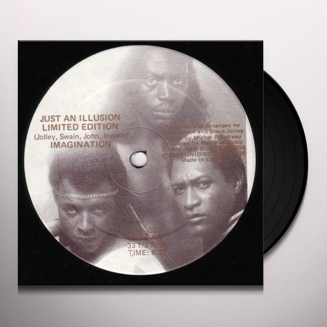 Imagination JUST AN ILLUSION Vinyl Record - Sweden Release