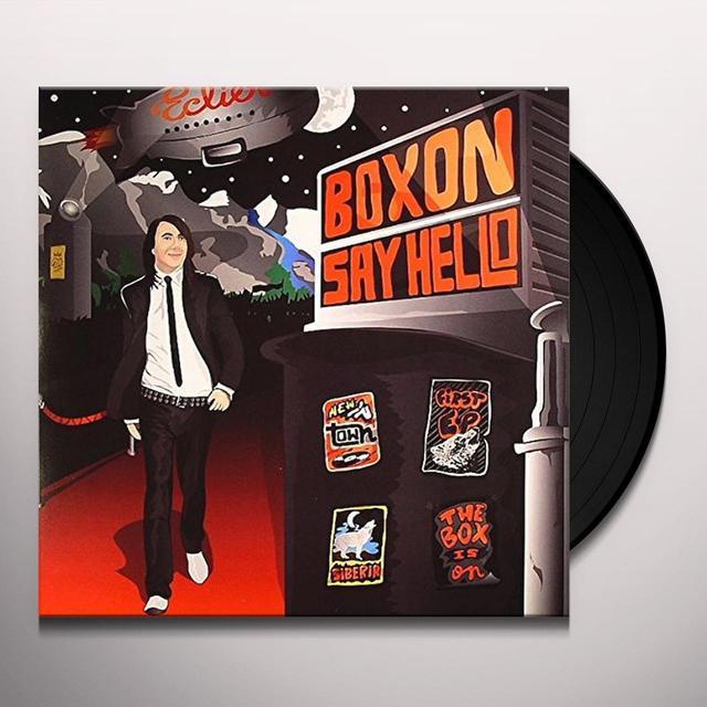 Eclier BOXON SAY HELLO EP (FRA) Vinyl Record