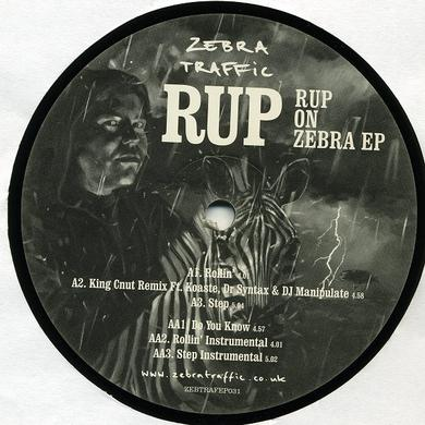 RUP ON ZEBRA EP Vinyl Record