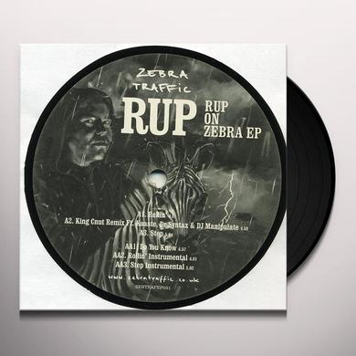 RUP ON ZEBRA EP Vinyl Record - UK Import