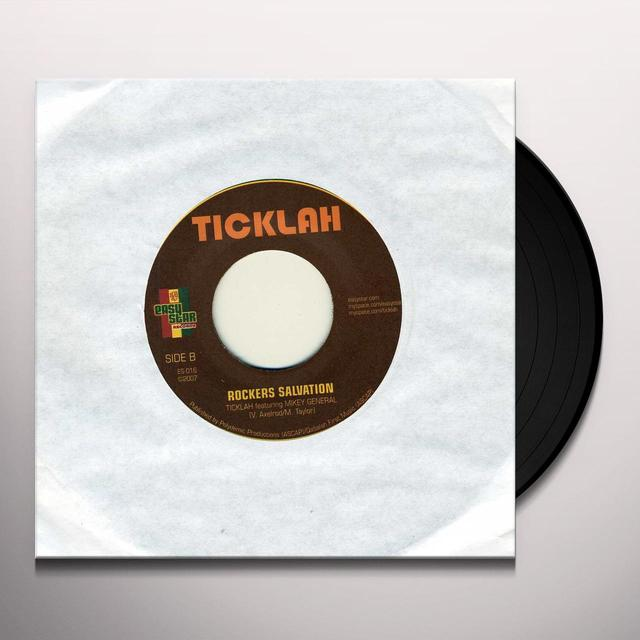 Ticklah & Mikey Gen RESCUE ME Vinyl Record - UK Import
