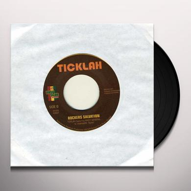 Ticklah & Mikey Gen RESCUE ME Vinyl Record - UK Import