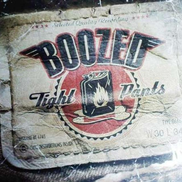 Boozed TIGHT PANTS Vinyl Record - UK Release