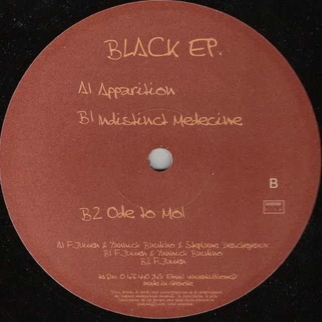 Patch Park PITCH BLACK EP (GER) Vinyl Record
