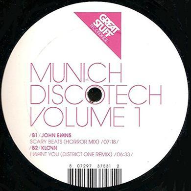 MUNICH DISCO TECH 1 Vinyl Record