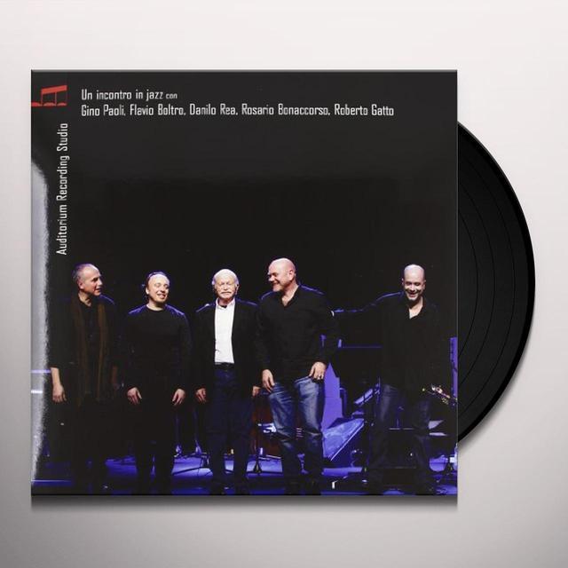 Paoli Gino UN INCONTRO IN JAZZ Vinyl Record