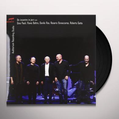 Paoli Gino UN INCONTRO IN JAZZ Vinyl Record - Italy Import