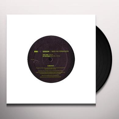 Gideon NEED NO PERMISSION 1 (GER) Vinyl Record