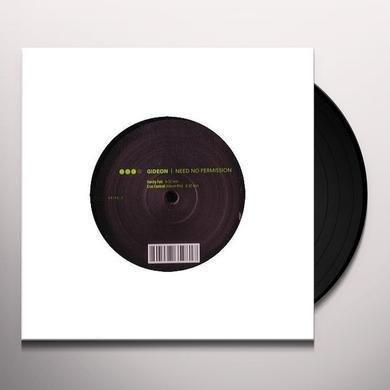 Gideon NEED NO PERMISSION 2 (GER) Vinyl Record