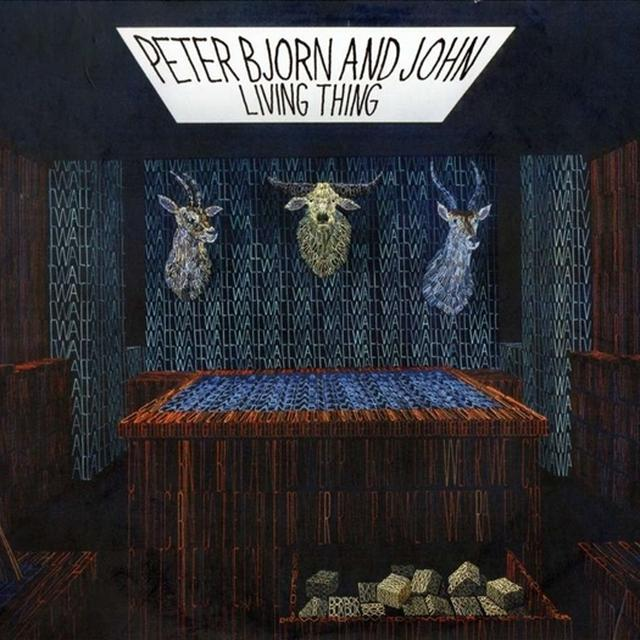 Peter Bjorn & John LIVING THING Vinyl Record - Sweden Release
