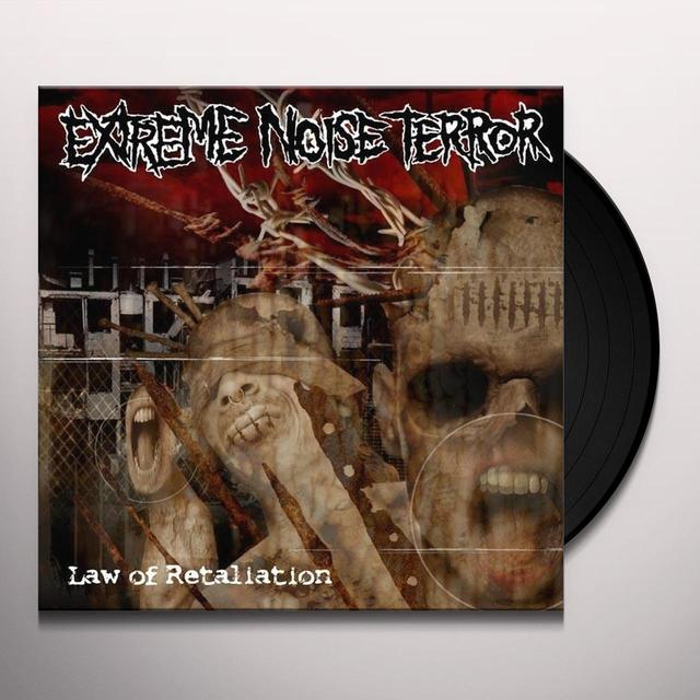 Extreme Noise Terror LAW OF RETALIATION Vinyl Record - Sweden Import