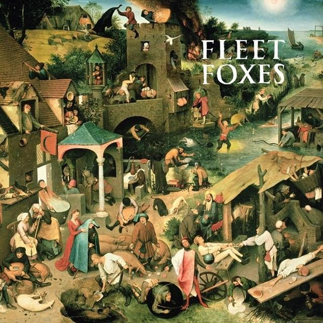 FLEET FOXES/SUN GIANT EP Vinyl Record - UK Import