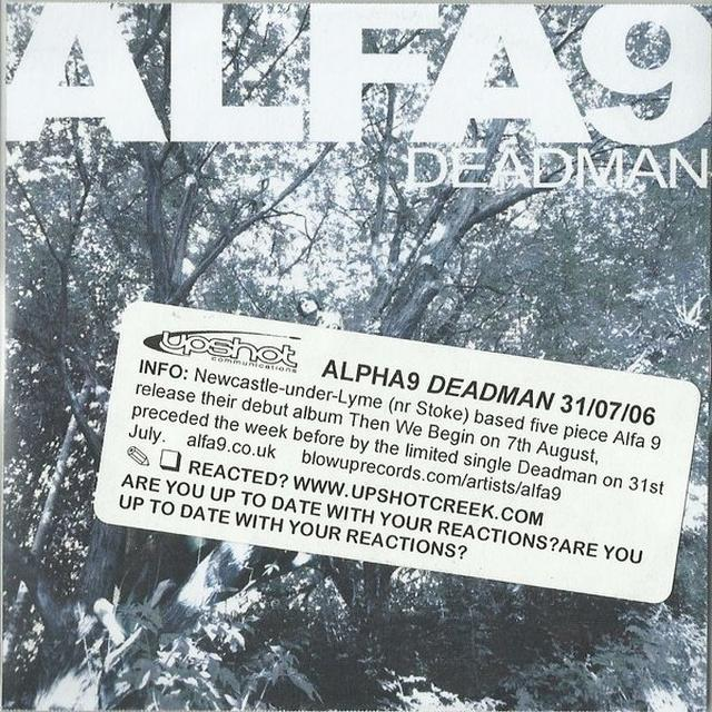 Alfa 9 DEADMAN Vinyl Record - UK Import