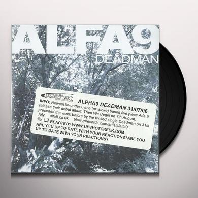 Alfa 9 DEADMAN Vinyl Record