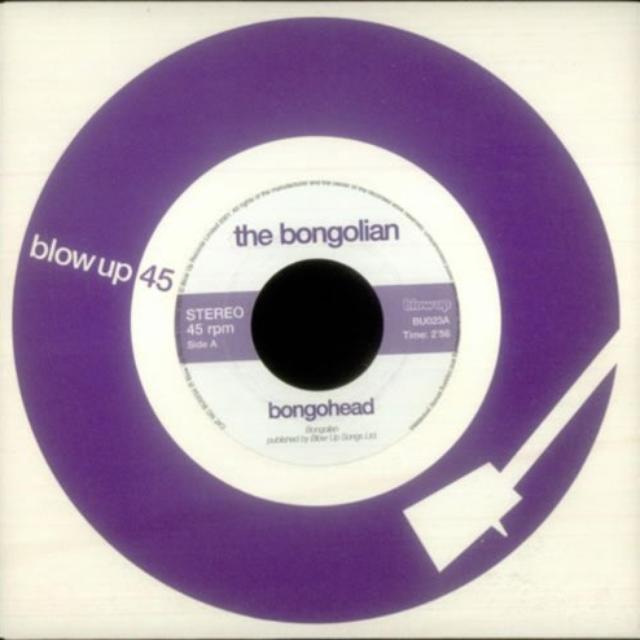 The Bongolian BONGOHEAD Vinyl Record