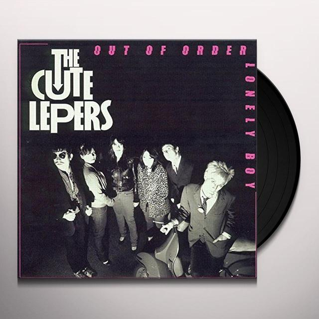 Steve E&Cute Lepers OUT OF ORDER Vinyl Record