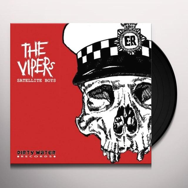 Vipers SATELITE BOYS Vinyl Record - UK Import