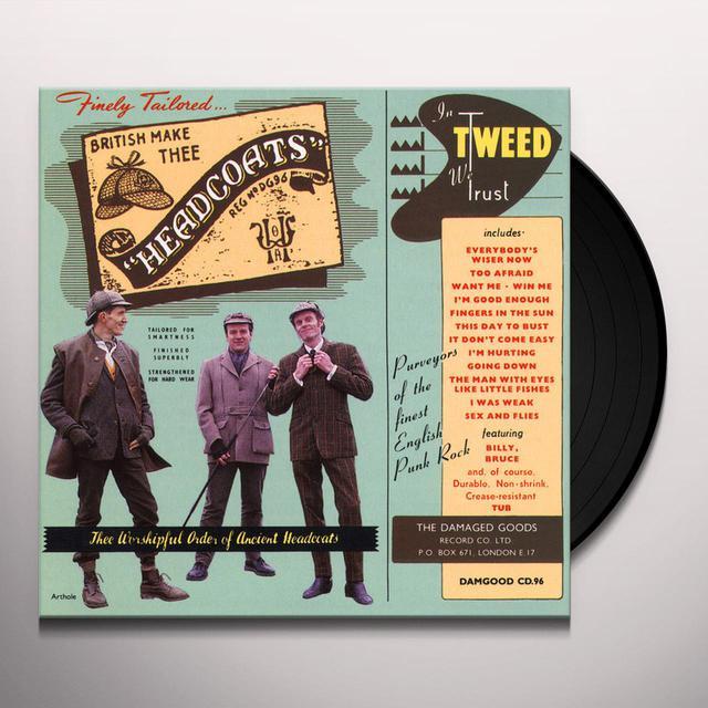 Thee Headcoats IN TWEED WE TRU Vinyl Record
