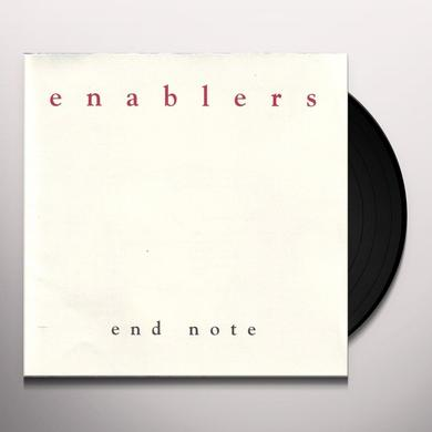 Enablers END NOTE Vinyl Record - UK Import