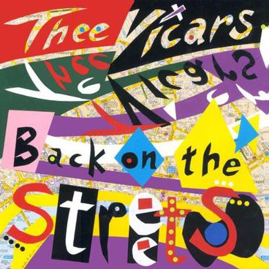 Thee Vicars BACK ON STREETS Vinyl Record