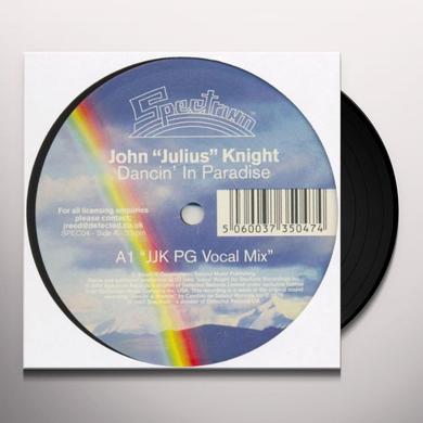 John Julius Knight DANCIN IN PARADISE Vinyl Record - UK Import
