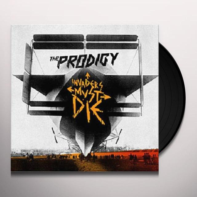 Prodigy INVADERS MUST DIE Vinyl Record - UK Import