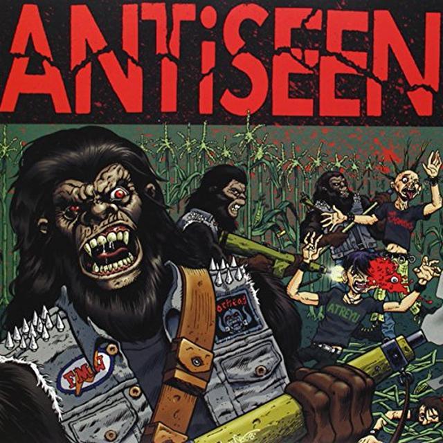 ANTISEEN/BRODYS MILITIA Vinyl Record - UK Import