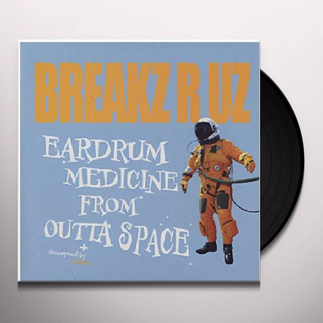 Dj Peabird EARDRUM MEDICINE FROM OUTTA SPACE Vinyl Record - Sweden Import