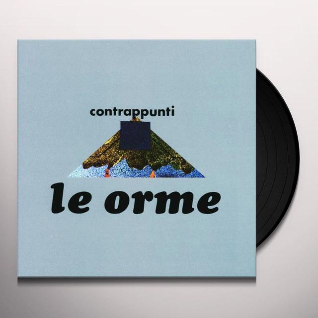 Le Orme CONTRAPPUNTI Vinyl Record