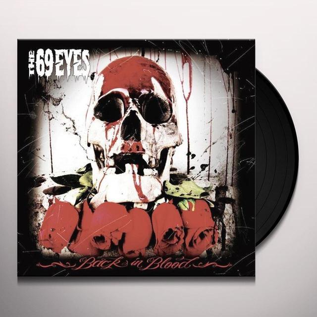 69 Eyes BACK IN BLOOD Vinyl Record - Sweden Release
