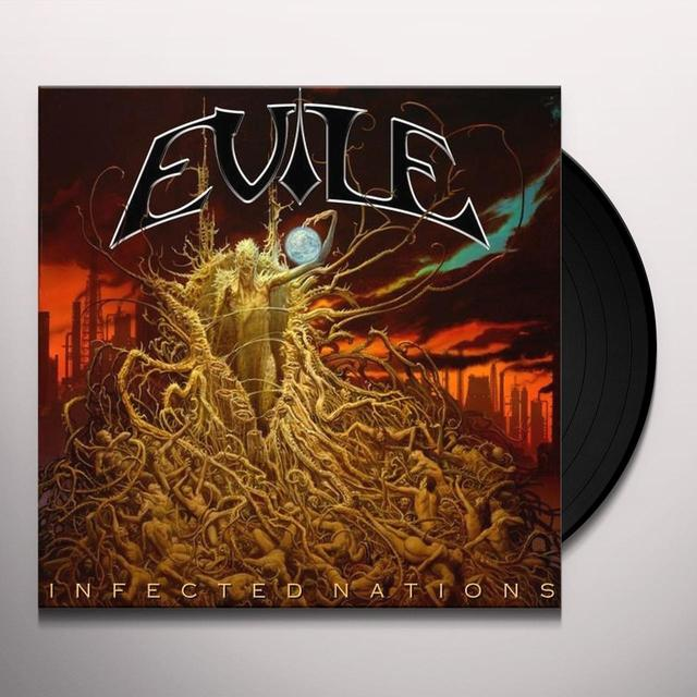 Evile INFECTED NATIONS Vinyl Record - UK Import