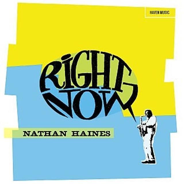 Nathan Haines RIGHT NOW Vinyl Record - Australia Import