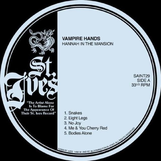 Vampire Hands HANNAH IN THE MANSION Vinyl Record