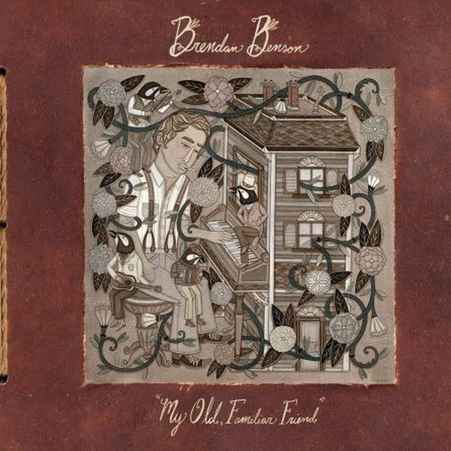 Brendan Benson MY OLD FAMILIAR FRIEND (GER) Vinyl Record